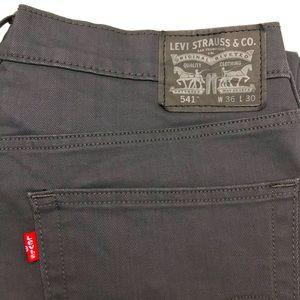 Levis 541 Athletic Taper Mens Jeans black 36x30